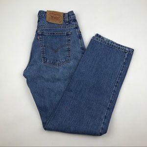 Vintage Levi's 555 High Waist wedgie fit Jeans